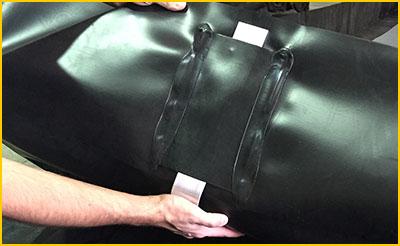 aluminum L-brackets for spill containment berm sidewalls